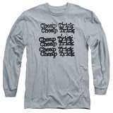 Long Sleeve: Cheap Trick- Stacked Logo Long Sleeves