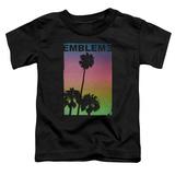 Toddler: Emblem3- Palms Stamp Shirts