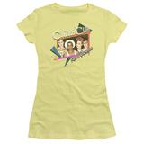 Juniors: Culture Club- Karma Chameleon Sticker T-shirts