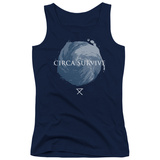 Juniors Tank Top: Circa Survive- Storm Pattern Shirts