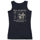 Juniors Tank Top: Rise Against- Die To Be Reborn T-shirts