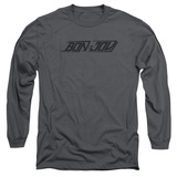 Long Sleeve: Bon Jovi- Speedy Logo T-Shirt