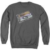 Crewneck Sweatshirt: Culture Club- Distressed Hurt Me Decal T-Shirt