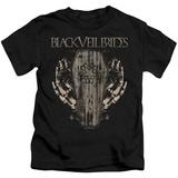 Juvenile: Black Veil Brides- Casket Roses T-Shirt