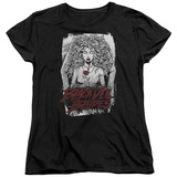 Womans: Black Veil Brides- Coffin Queen T-shirts