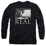Long Sleeve: The Word Alive- Real Tour T-shirts