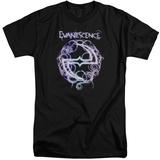Evanescence- Thorny Radiant Logo (Big & Tall) T-Shirt