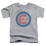 Toddler: Cheap Trick- Distressed Logo Button T-Shirt