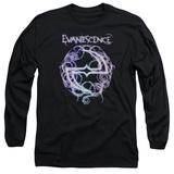 Long Sleeve: Evanescence- Thorny Radiant Logo T-Shirt