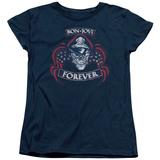 Womens: Bon Jovi- Forever Distressed T-shirts
