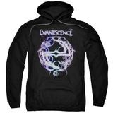 Hoodie: Evanescence- Thorny Radiant Logo Pullover Hoodie