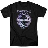 Evanescence- Thorny Radiant Logo T-Shirt