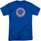 Weezer- Distressed Rock Music Button (Big & Tall) Shirts