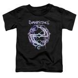 Toddler: Evanescence- Thorny Radiant Logo Shirt
