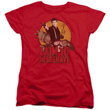 Womans: Firefly- Aim To Misbehave T-Shirt