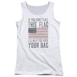 Juniors Tank Top: Pack & Go (Unamericana) T-shirts