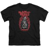 Youth: Black Veil Brides- Santa Muerte T-Shirt