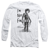 Long Sleeve: Edward Scissorhands- Not Finished T-Shirt
