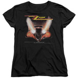 Womans: ZZ Top- Eliminator Cover T-shirts