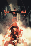Daredevil No. 6 Cover Art Featuring: Daredevil, Elektra Posters by Bill Sienkiewicz