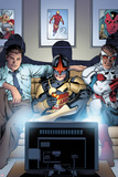 Nova No. 8 Cover Art Featuring: Jesse Alexander, Nova, Falcon Cap Prints by Tom Raney