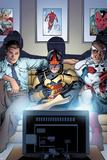 Nova No. 8 Cover Art Featuring: Jesse Alexander, Nova, Falcon Cap Prints by Tom Raney