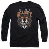Long Sleeve: Rise Against- Tiger Bomb Shirt