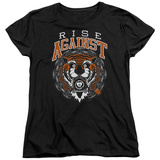 Womans: Rise Against- Tiger Bomb T-shirts