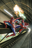 The Amazing Spider-Man No. 10 Cover Art Featuring: Spider-Man, Scorpio Posters by Alex Ross
