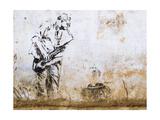 Street Art Mural in Pushkar, Rajasthan, India Posters by R M Nunes