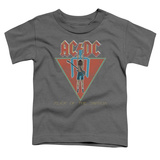 Toddler: AC/DC- Flick Of The Switch Applique T-shirts