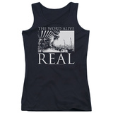 Juniors Tank Top: The Word Alive- Real Tour T-Shirt