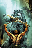 Civil War II: Gods of War No. 1 Cover Art Featuring: Hercules Prints by Jay Anacleto