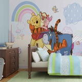 Disney Winnie the Pooh - Rainy Day - Vlies Non-Woven Mural Decorazione murale