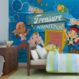 Disney Jake & the Neverland Pirates - Treasure Awaits - Vlies Non-Woven Mural Tapettijuliste