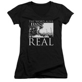 Juniors: The Word Alive- Real Tour V-Neck T-shirts