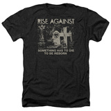 Rise Against- Die To Be Reborn T-shirts