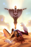 Squadron Supreme No. 6 Cover Art Featuring: Black Bolt, Doctor Spectrum Posters by Alex Garner