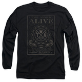 Long Sleeve: The Word Alive- Show No Mercy Stamp T-Shirt
