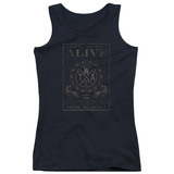 Juniors Tank Top: The Word Alive- Show No Mercy Stamp T-Shirt