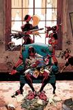 Deadpool Cover Art Featuring: Lady Deadpool, Kidpool, Dogpool, Headpool, Deadpool Posters