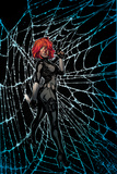 Black Widow No. 3 Cover Art Stretched Canvas Print by Joelle Jones