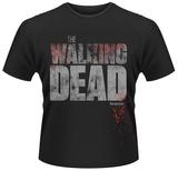 The Walking Dead- Splattered Block Logo Vêtements