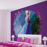 Disney Frozen - Elsa & Anna Vægplakat i tapetform