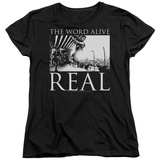 Womens: The Word Alive- Real Tour T-shirts