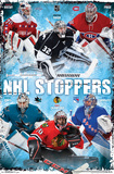 NHL- Stoppers Collage 16 Pôsters