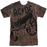 AC/DC- Rock Cannon Shirt