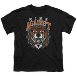 Youth: Rise Against- Tiger Bomb T-Shirt