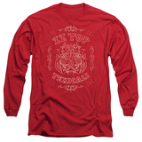 Long Sleeve: ZZ Top- Texicali Demon T-shirts