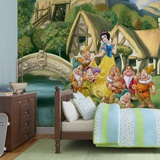 Disney Snow White - Seven Dwarves Cottage Fototapeta